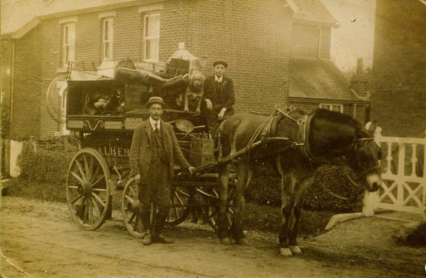 Heming's delivery cart
