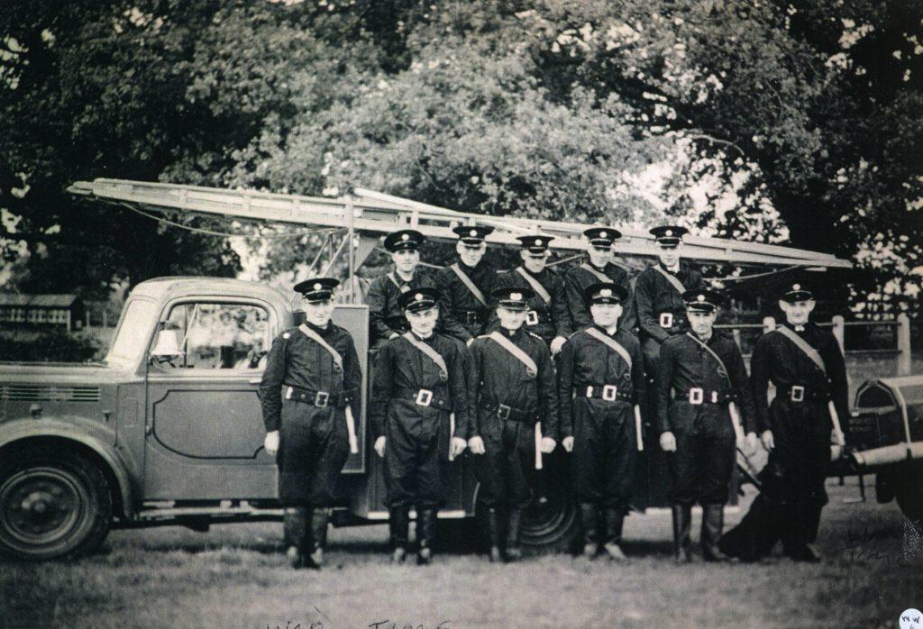SW 5 Fire Brigade in 1939