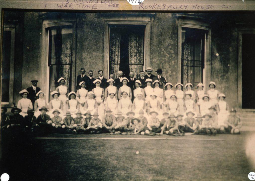 SW 5 WW1 nurses at Rookesbury